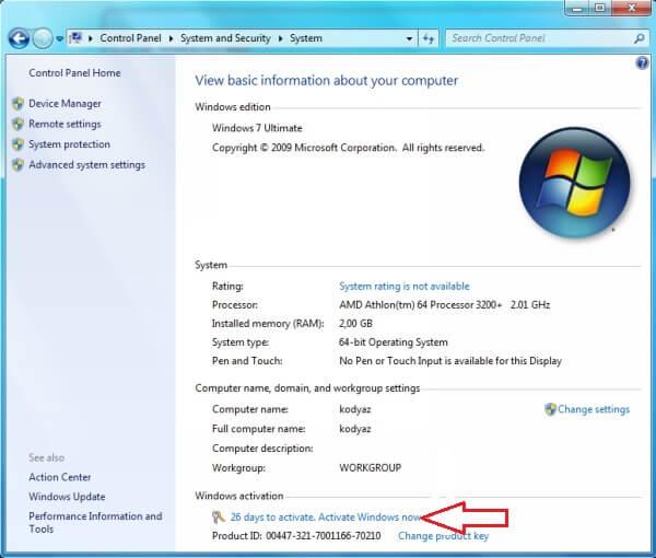 microsoft windows 7 64 bit download