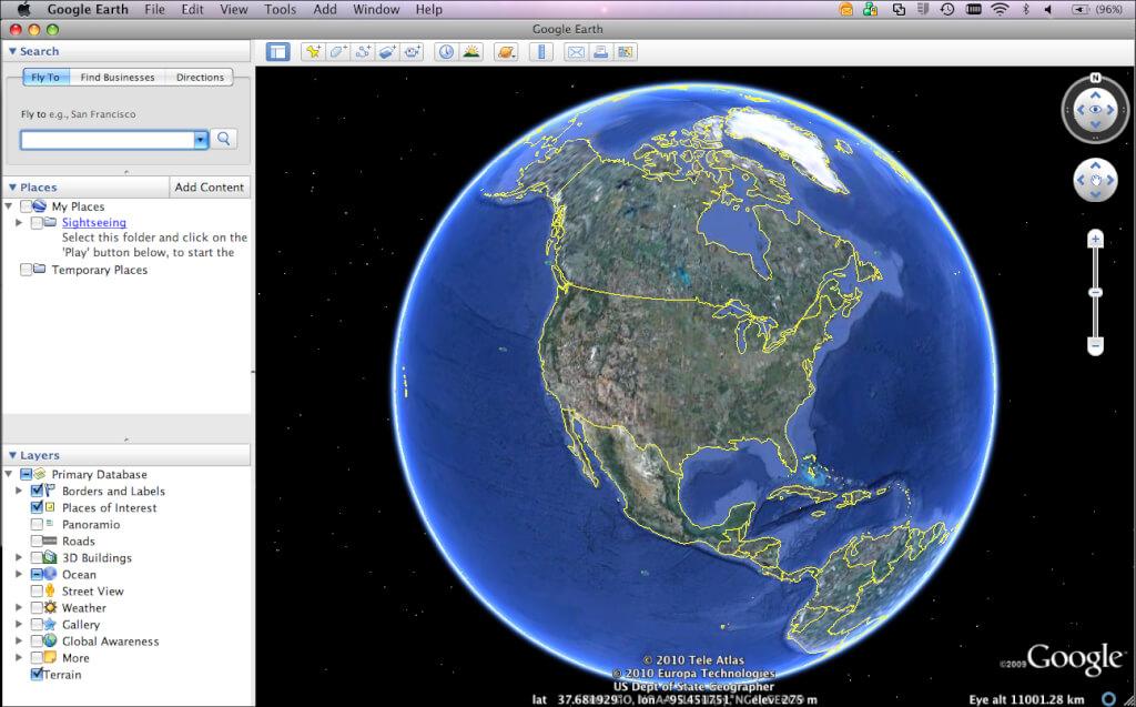 Google Earth Offline Installer for Windows Free Download