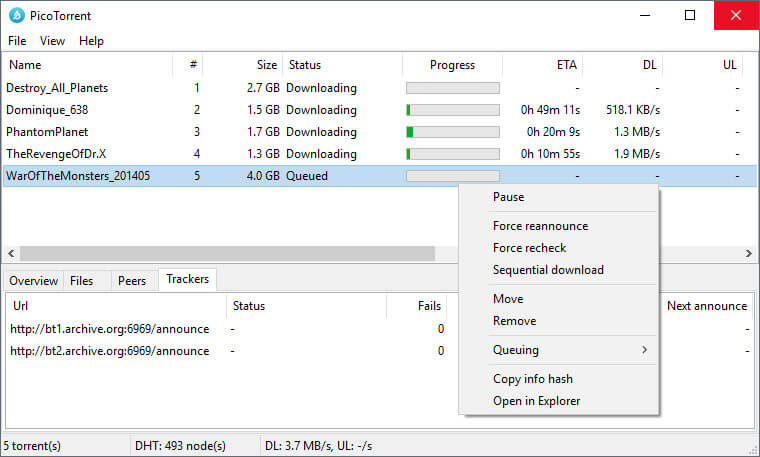 picotorrent Offline installer Free Download