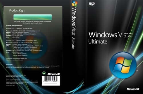 Windows Vista Installation Product key