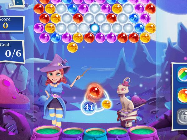 Bubble witch 3 saga game